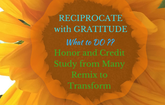 Make Cycle #2: Reciprocate with Gratitude and Generosity