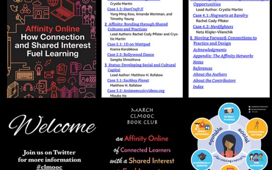 CLMOOC Book Club in March 2019: Affinity Online