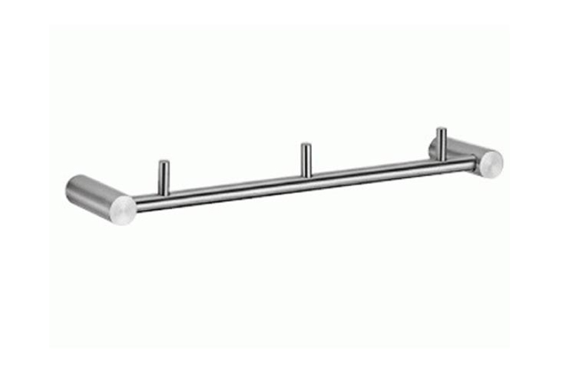 CL-202 Triple Flannel Hook | Cloakroom Solutions