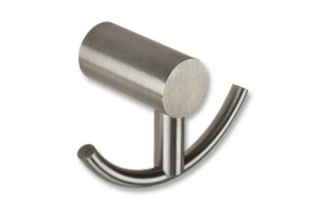 CL-205 Double Coat Hook | Cloakroom Solutions
