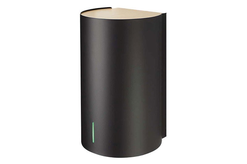 BJÖRK Hand Dryer in Black | Cloakroom Solutions