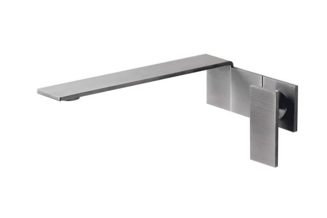 Emotion 5 Single Lever Wall Mount Mixer Tap | Cloakroom Solutions