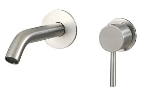 Fasson 40 Up Wall Mixer Tap | Cloakroom Solutions
