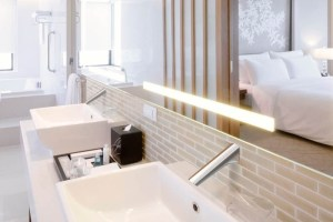 panel mounted sensor taps | Cloakroom Solutions