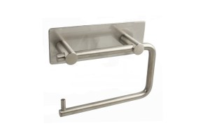 CL-222 Toilet Roll Holder With Back Plate | Cloakroom Solutions