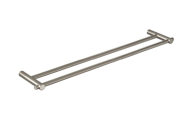 CL-224 Cool Line Double Towel Rail | Cloakroom Solutions