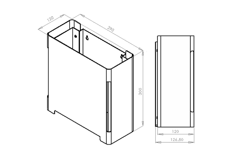 CL-262 Dimensions | Cloakroom Solutions