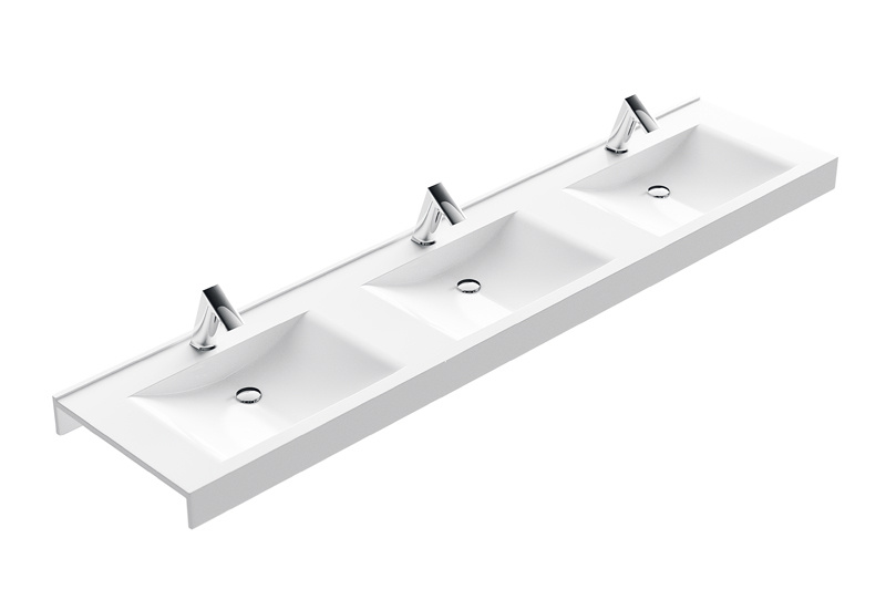 CONTI+ Swing Custom Washbasin | Cloakroom Solutions