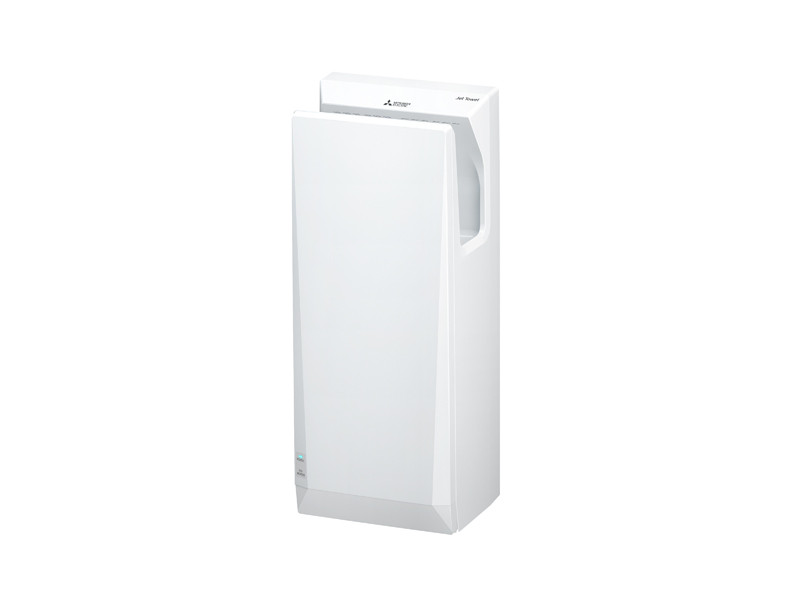 Mitsubishi Jet Towel Slim in White | Cloakroom Solutions