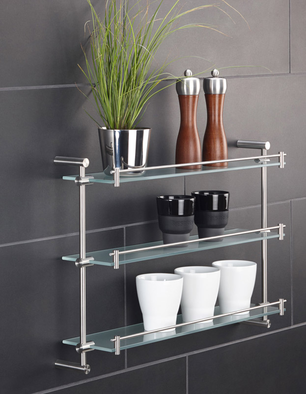 PHOS GR600-3 KR12-35-6-Set_Washroom Shelf | Cloakroom Solutions