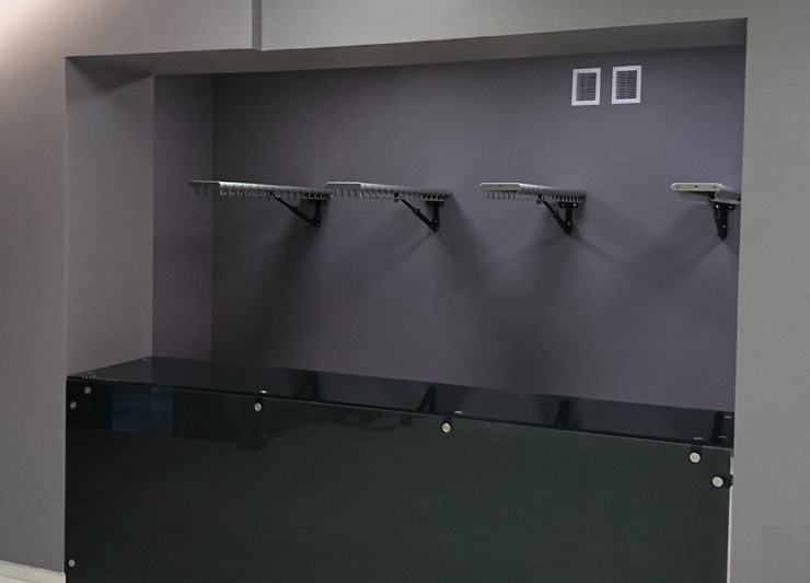 Space Saving Coat Rails | Cloakroom Solutions