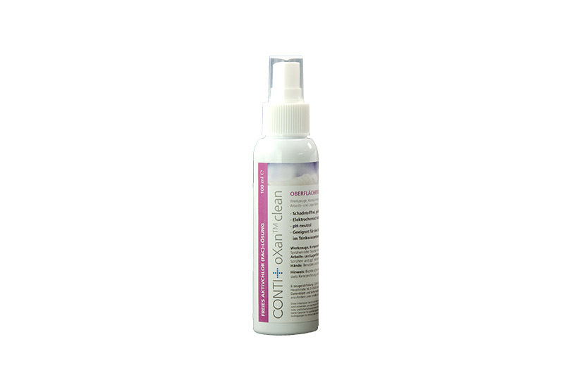 CONTI+ oXan Clean 100ml Spray | Cloakroom Solutions