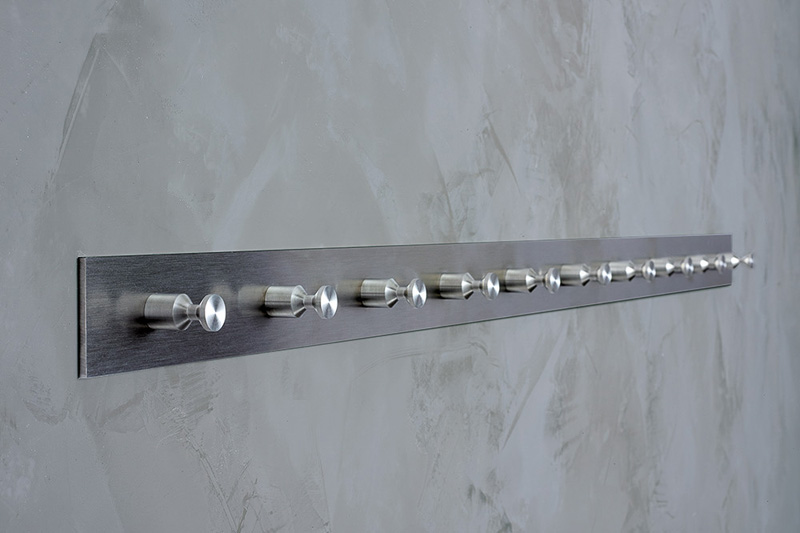 PHOS HL10 Hook Rail | Cloakroom Solutions
