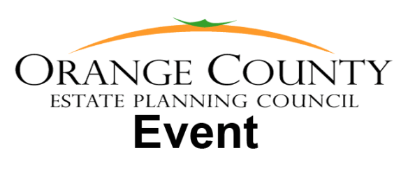 Orange County Estate Planning Event
