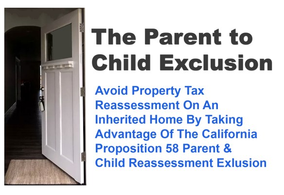 Parent Child Exclusion From Property Tax Reassessment