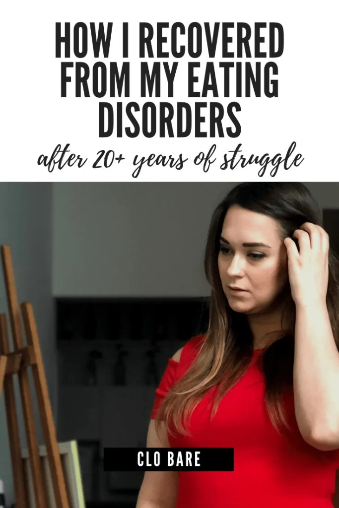 how to recovered from my eating disorders
