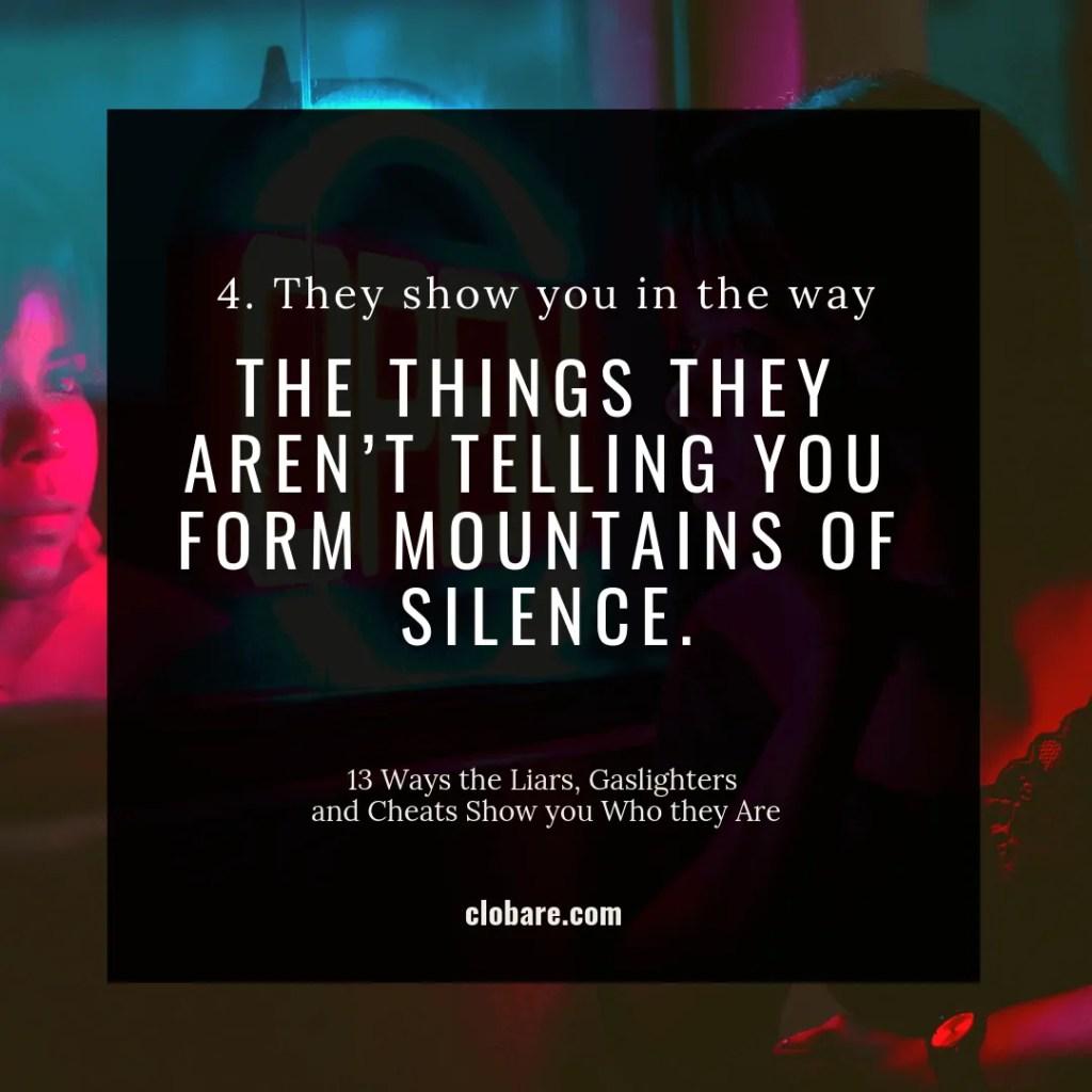 Mountains of Silence: Gaslight