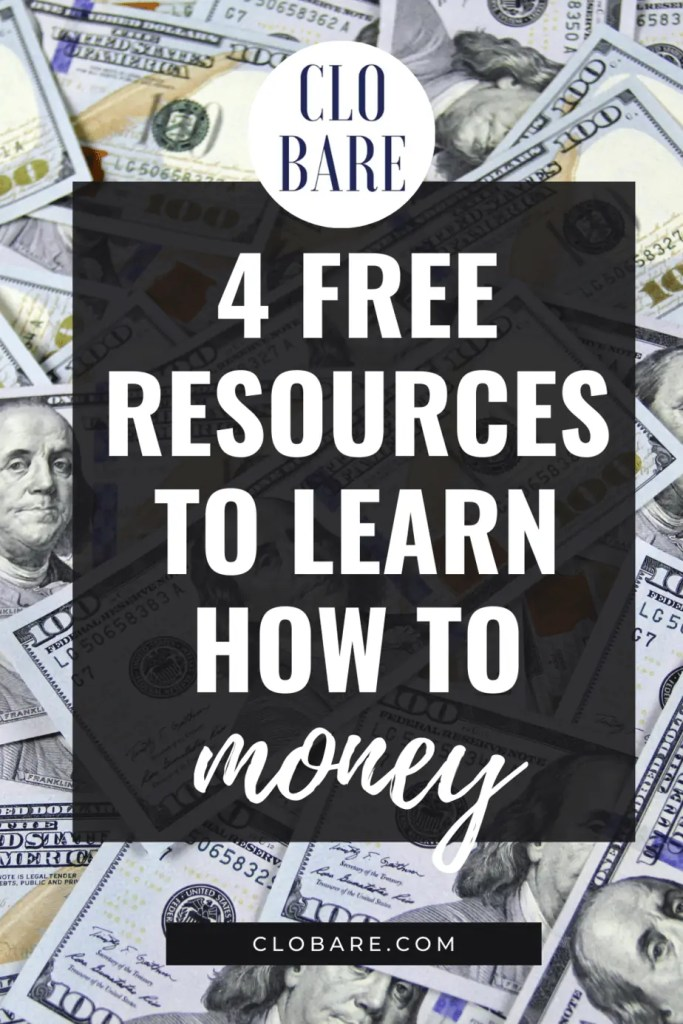 4 free resources to learn how to money