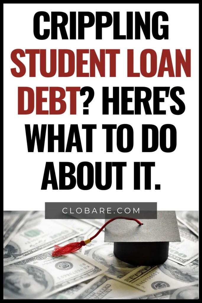 crippling student loan debt