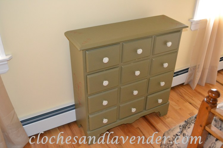Re-done Chest with Ceramic Knobs