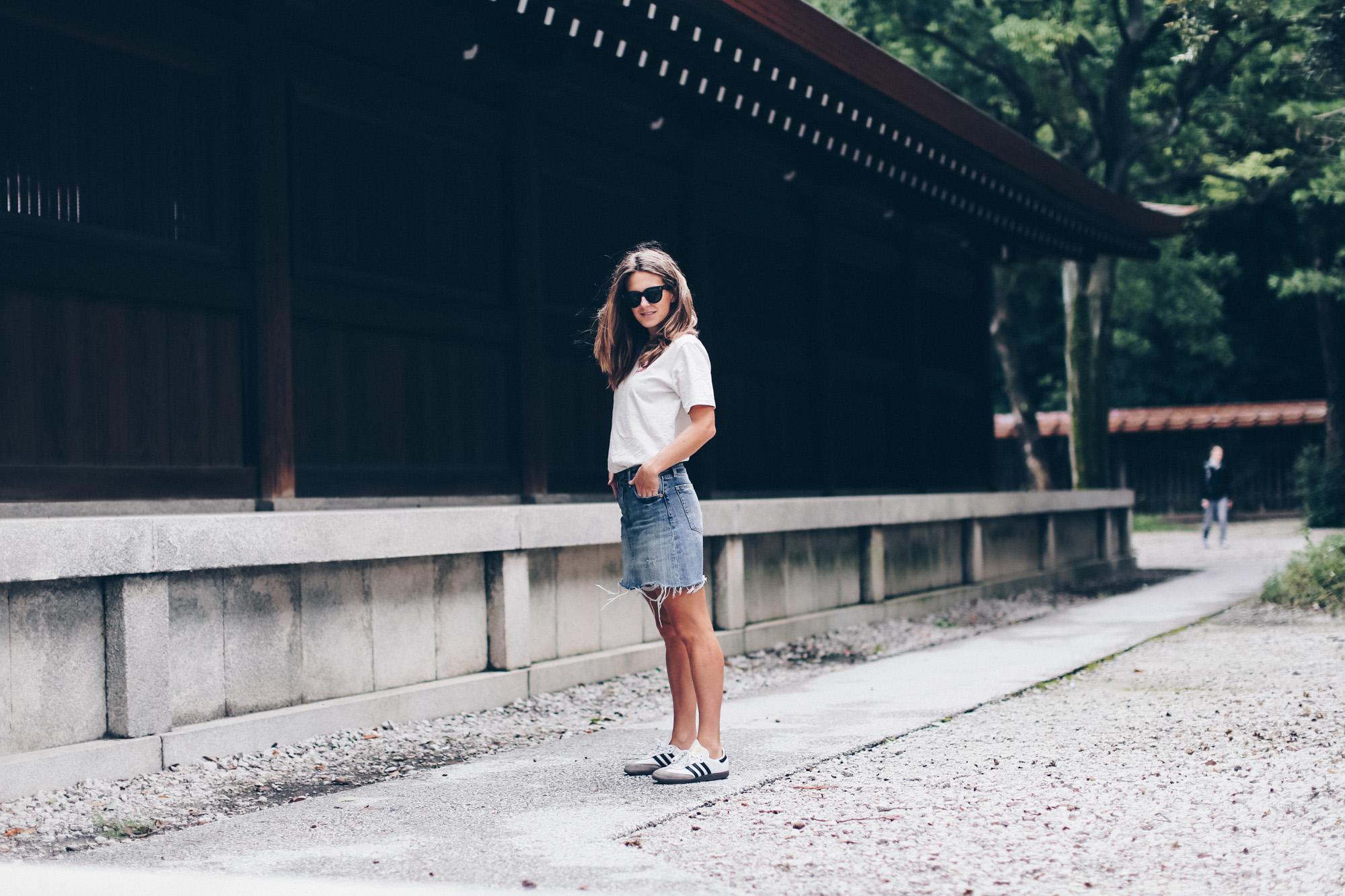 Teta Power en Tokyo  Adidas  Adidas Samba  Celine  Clochet