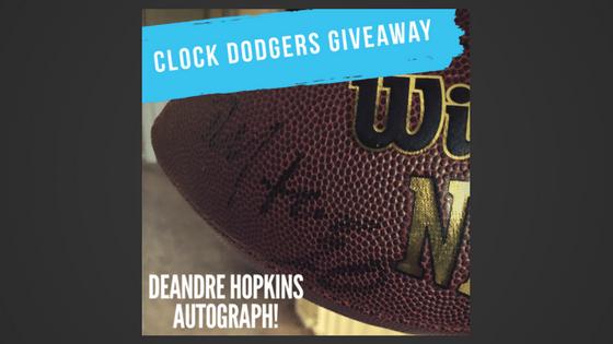 deandre hopkins autographed