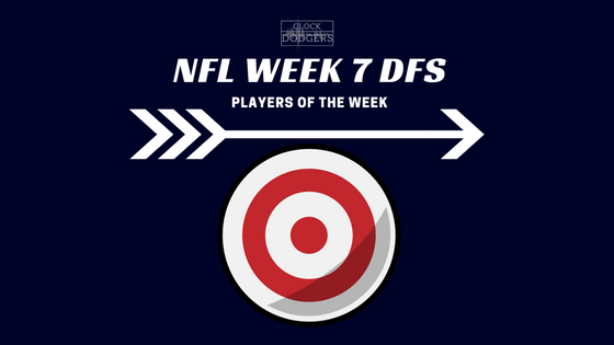week 7 nfl dfs
