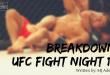 ufc fight night 118 breakdown