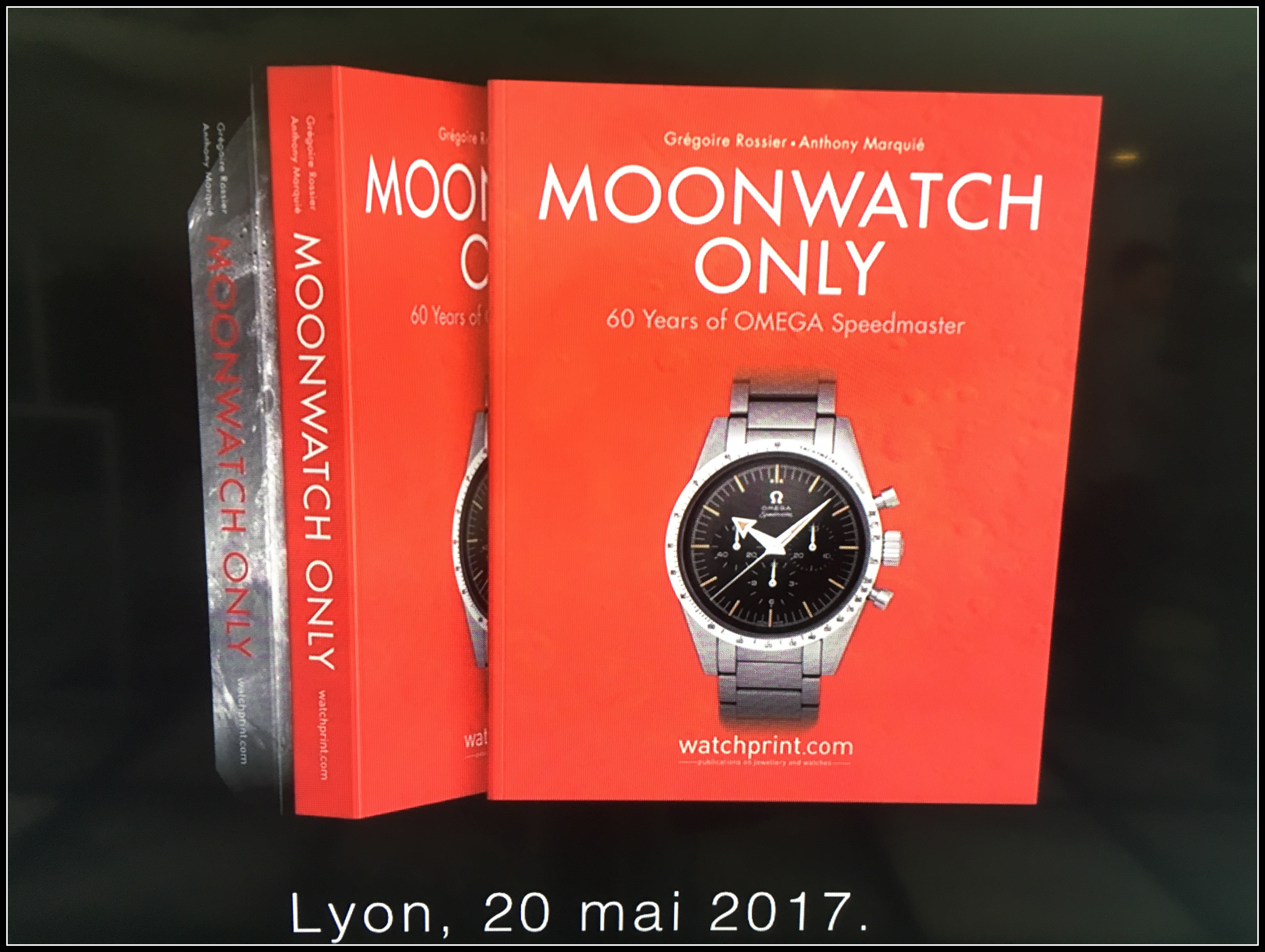 Journée MoonWatchOnly du 22 mai 2017