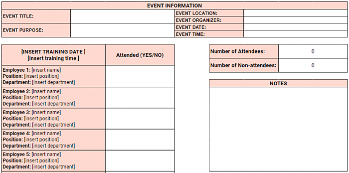 A contract tracking template is just an invoice tracking templates. Employee Attendance Tracker Excel Templates Clockify
