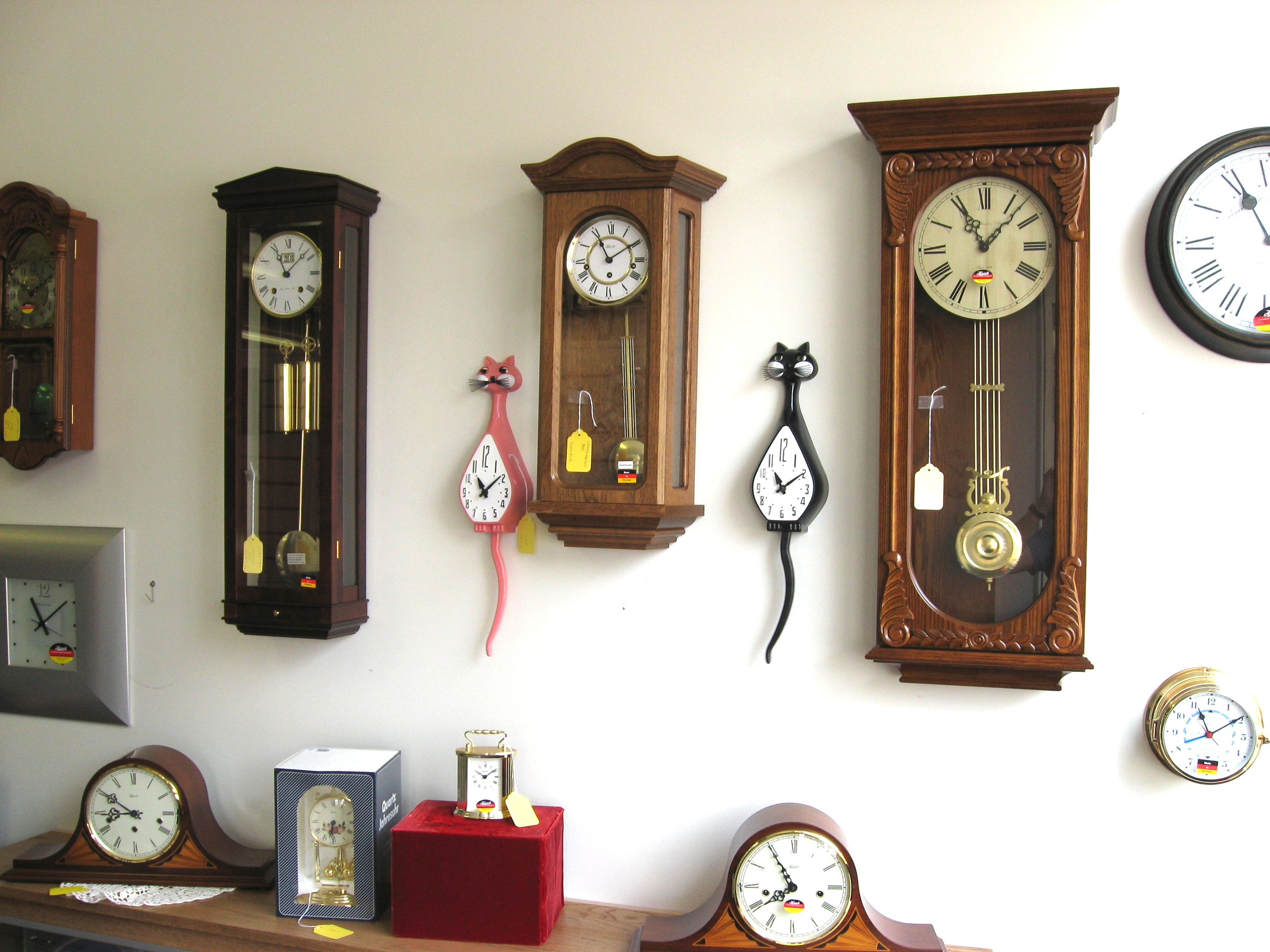 Hermle clocks for sale
