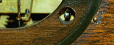 Ingraham Tambour with Quick Release Dial - closeup