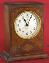 Seth Thomas manual start electric clock, ca. 1930