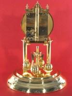 All the parts of a Schatz standard 400 clock pendulum.
