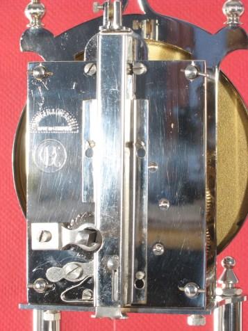 Movement, Horolovar back plate no. 1363