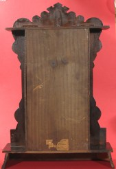 Rear of clock