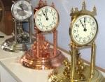 Nickel, copper and brass 400 day clocks