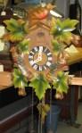 Multicolor cuckoo clock