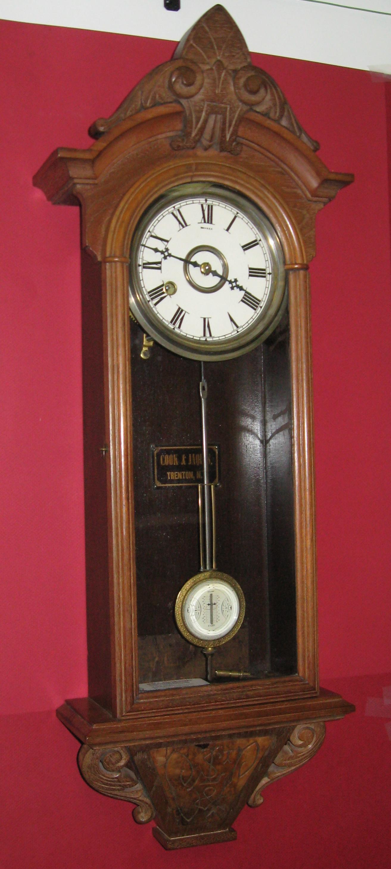 Kroeber Regulator No 31 Wall Clock Clockinfo Com