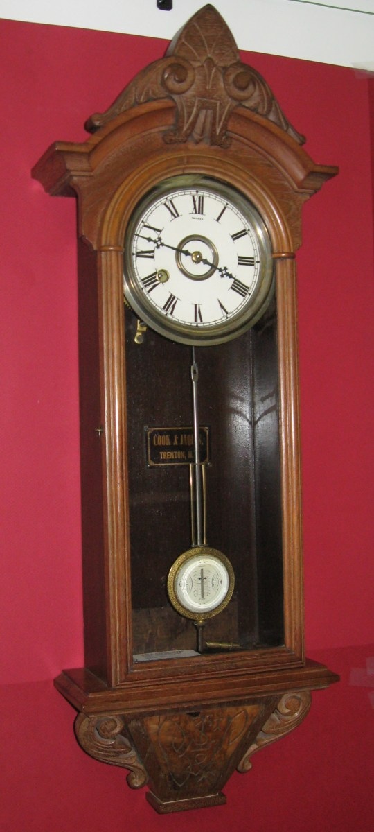 Kroeber Regulator No 31 Wall Clock Clockinfo Com