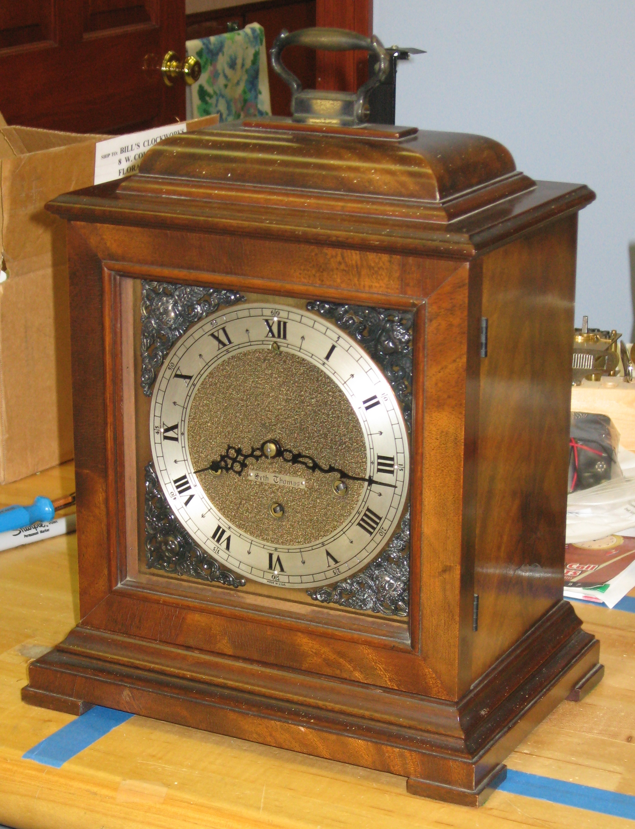seth thomas chime diagram wire data schema u2022 rh soloblog co Dating Seth Thomas Clocks Seth Thomas Grandfather Clock Manual