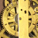 Movement before cleaning, also the count wheel  is on backward.