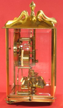 Side view of 1972 clock