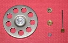 Motor bearings, rotor, arbor and pinion