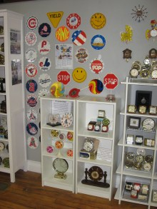 Lolly (children's clocks) and misc Westclox clocks.