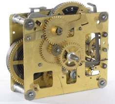 Front of movement showing repeat lever at right