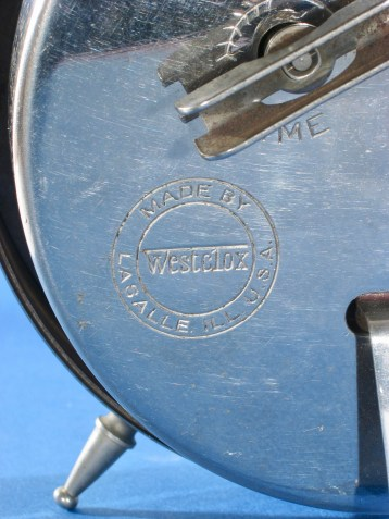 Westclox logo on back of 12-5-10 Big Ben