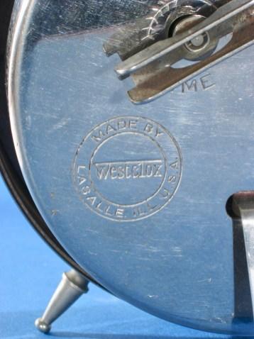 Westclox logo on back of 12-5-10 Big Ben