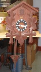 Clock and pendulum