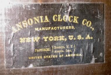 The backboard label